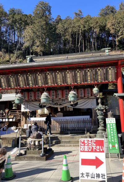 2021/1月[太平山神社]徒行