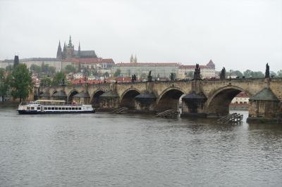 チェコ10日間の旅(8)プラハ(プラハ城、カレル橋、スメタナ博物館)