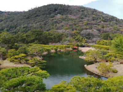 東京から関西への新しい行き方 サンライズ瀬戸で高松へ行き、うどんを食べ、庭を見て、関西へ行く