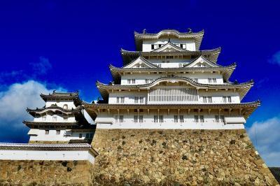 2020年:冬休み:しあわせの村でパターゴルフ&尼崎に用事&白くなった世界遺産『日本の宝から世界の宝へ』姫路城へ初入城!(じいじ+家族で♪)