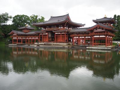 オトコナラ~2020夏休みは35年ぶりの奈良~ ⑤最終日は若草山から奈良の街を見納め後、初日同様土砂降りの宇治・平等院に立ち寄り帰路へ