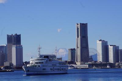 ホテルステイで年越し、元旦クルーズで海から横浜を眺めました
