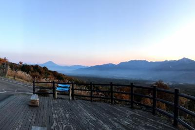 入笠山、富士見高原の旅