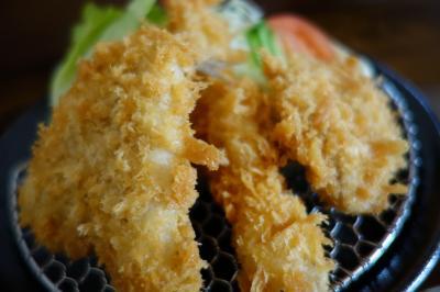 20210110-1 京都 北山でゆっくりいただける揚げもん、とんかつかつ善でミックスフライ定食