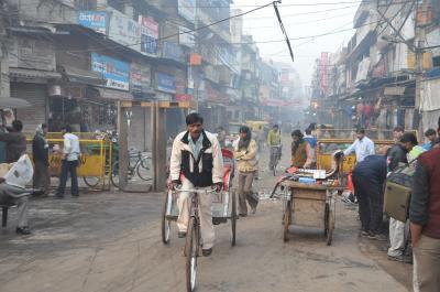 2008年~2009年 ドバイ経由でインド縦断の旅へ-A(デリー編)