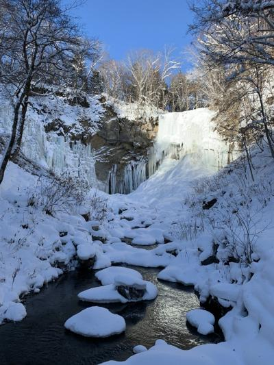 2021年1月 厳冬期の氷瀑と日帰り温泉