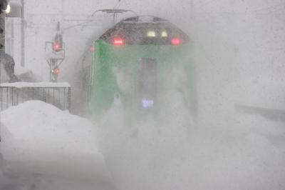 きた北海道フリーパスで行く真冬の宗谷本線、入場券集めの旅 1日目:旭川にたどり着け!【鉄道旅行】