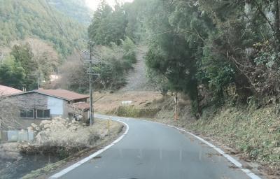 中央構造線の谷を走る(4/4)塩の道の宿場町・水窪(みさくぼ)