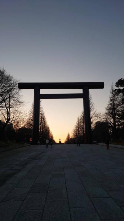 新年祈願 靖国神社 東京大神宮