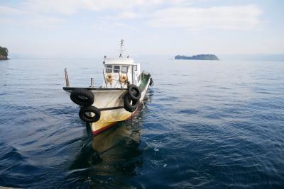 鹿児島市内に一泊、桜島からポンポン船で新島!へ、えっ新島??って・・・編