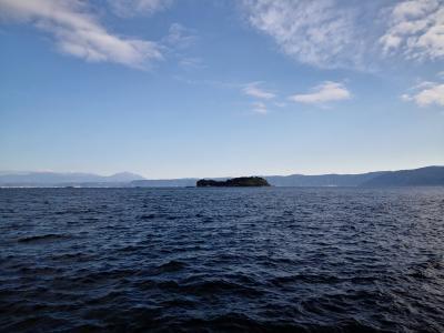桜島の横にある新島に行ってみる