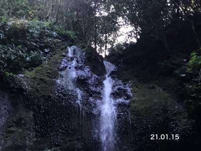 女山滝を見に行ってみました