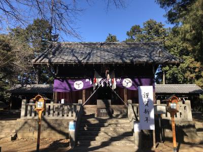 令和3年の初詣は霞ヶ関界隈を歩きました