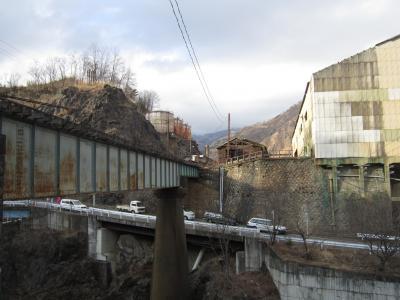 2011年 足尾銅山への廃線を歩く