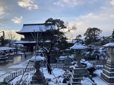 2021年01月 善光寺、北向観音、別所温泉に行ってきました。