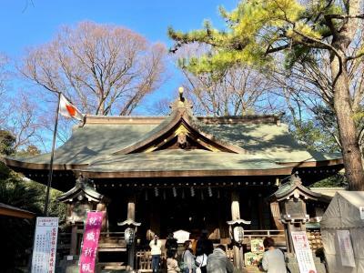 相模国六社巡り 前鳥(さきとり)神社