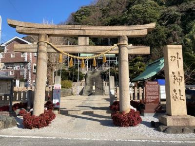 東西の「叶神社」・渡し船・観音崎灯台など浦賀の名所を駆け足で少しだけ観光!