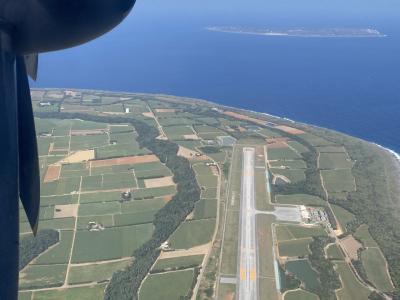 JALツアーの小型プロペラ機でホッピング旅行記 南北大東島に上陸!