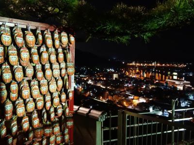 鞆の浦 夜の尾道