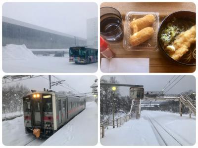 非GoToで旭川雪見の旅 vol① 3月廃止予定の伊納駅を訪れた。
