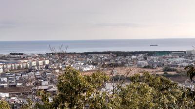 平塚タンメンと高麗山