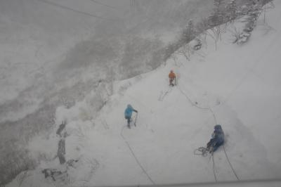 2013年 冬の千畳敷カールと駒ヶ岳ロープウェイ