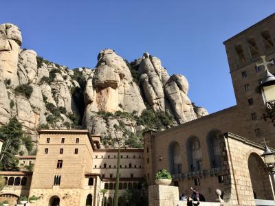 25年ぶり4回目のバルセロナ・ビフォーコロナの団体?旅4:モンセラットと再びチャペラ