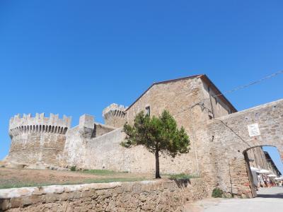 2020年9月 イタリア旅行8 エトルリア人の遺跡ポピュロニアに行く Populonia