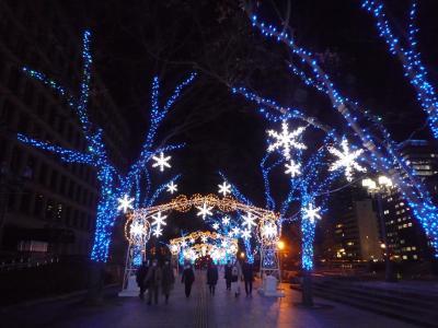12月中旬 コロナだけどキラキラが見たい 大阪光の饗宴と大阪光のルネサンス