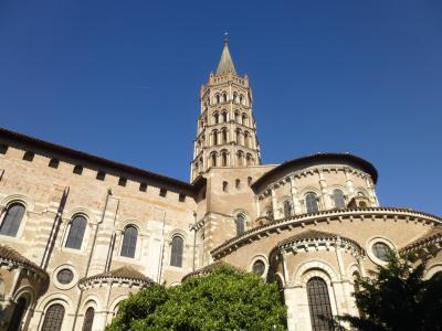 休暇でロマネスク トゥールーズ 3 ヨーロッパ最大のロマネスク聖堂へ!
