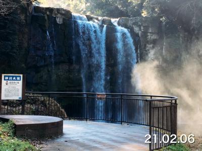 神川大滝~小滝~長次郎の滝~小便の滝~雨後の滝を見てみます