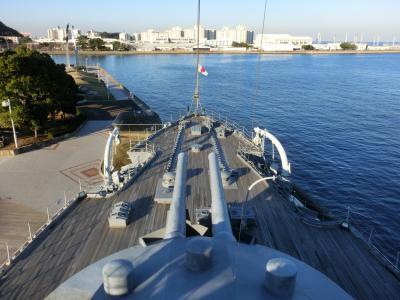 記念艦みかさを見学して ベストウェスタンフィーノ新横浜に宿泊