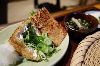 20210116 十津川 熊野から京都への帰り道。お昼はお蕎麦に。そば処風庵。