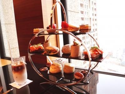 新しくなったインターコンチネンタルホテル大阪のクラブラウンジ☆ぷれじでんと千房のお好み焼&DINING&BAR LAVAROCK