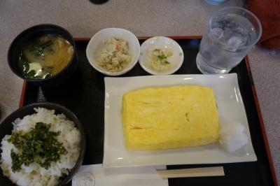 20210118 京都 六条通りの地元感なお食事どころですね。つるやこなな、だしまき定食。