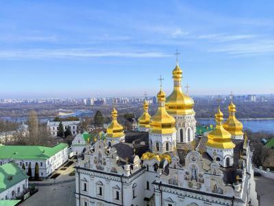 【五大陸周遊】教会群に心を癒されるキエフ街歩き