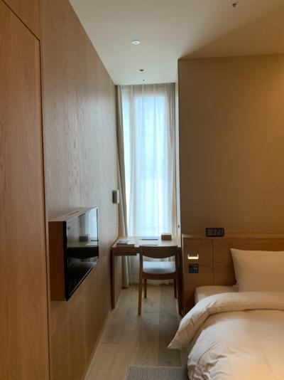 MUJIホテルでほっこり 旅をしない自分にご褒美&何もしないDay