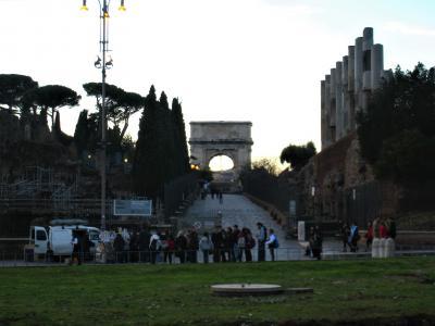 イタリア旅行ー冬のローマ(前篇)ー(2011年)