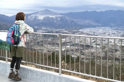 「美の山・皆野」のAR体験
