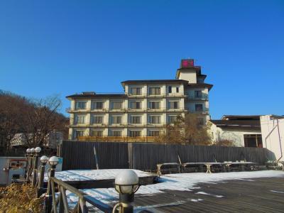 秋保温泉ホテル華乃湯に宿泊し、秋保ヴィレッジと磊々峡を訪れる