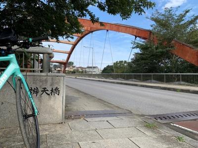 花見川~新川~印旛沼サイクリングコース【観光】サイクリング-②