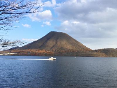 榛名富士と紅葉の榛名湖周遊道路ウォーキング
