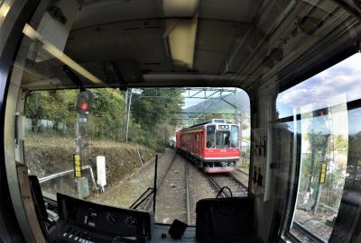 箱根登山鉄道に乗って、令和『阿房列車』の旅 4箱根湯本へ