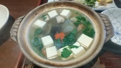 浜松ですっぽん一人鍋を食べてみた