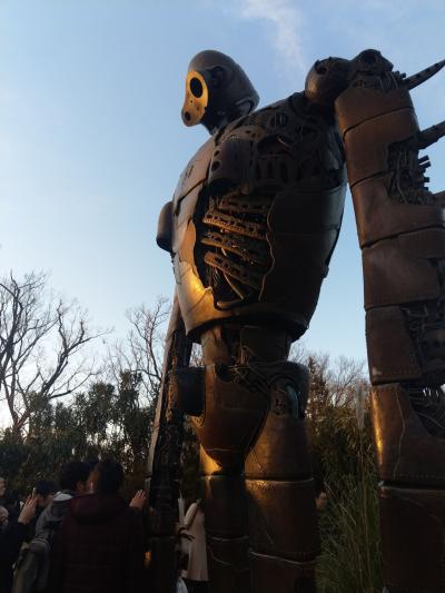 2019.1三鷹の森ジブリ美術館へ