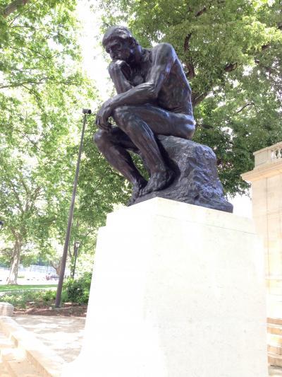 ペンシルベニア州 フィラデルフィア ー ロダン美術館は外に無料で見れる有名な作品たち