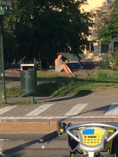 """よたよた''北欧""""自転車キャンプ旅 ヘルシンキ観光"""