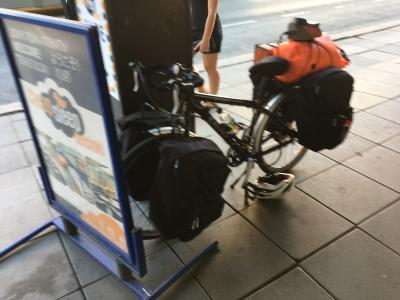 """よたよた''北欧""""自転車キャンプ旅 出発-2019/6/7"""
