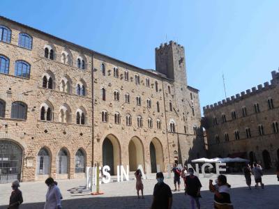 2020年9月 イタリア旅行9 車を停めるところが見つかってよかった!ヴォルテッラ1 Volterra