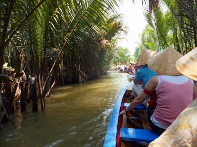 ベトナムの旅(3)ホーチミン メコンデルタクルーズ